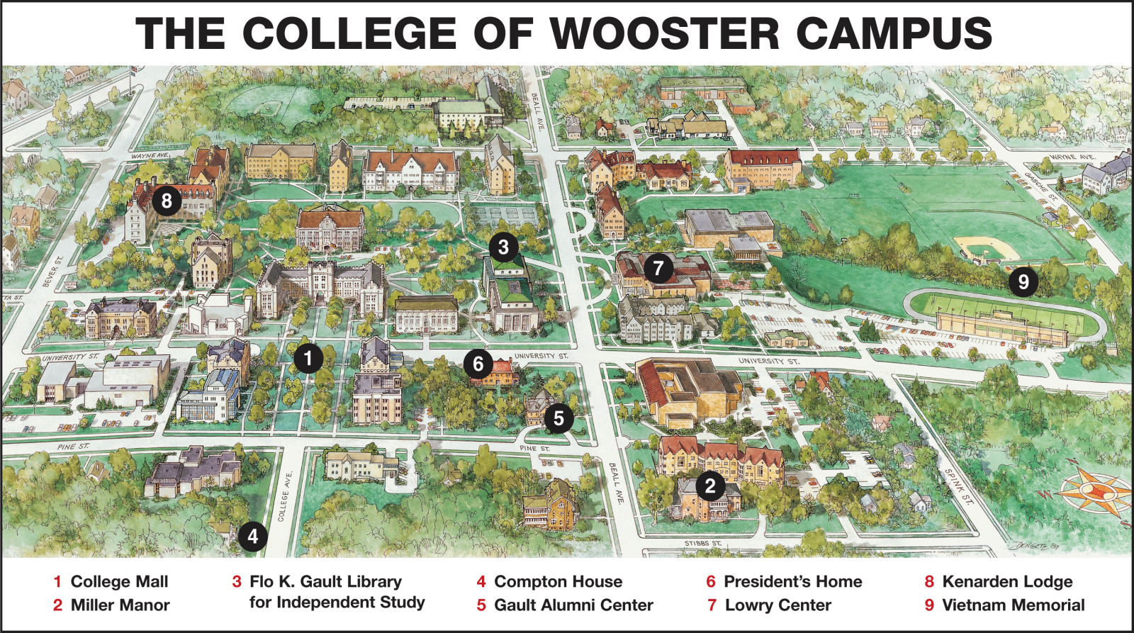 College Map 25 Maps That Explain College Football
